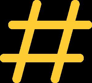 3. Hashtag y mención